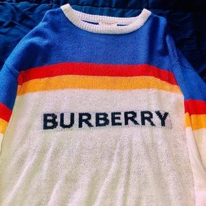 Burberry Sweater.